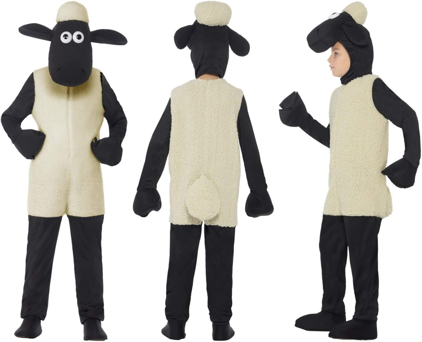 Fancy Dress World - Disfraz Infantil de Oveja Shaun The Sheep ...