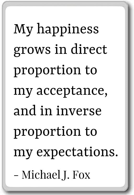 Mi Felicidad crece en proporción directa para M... - Michael J ...
