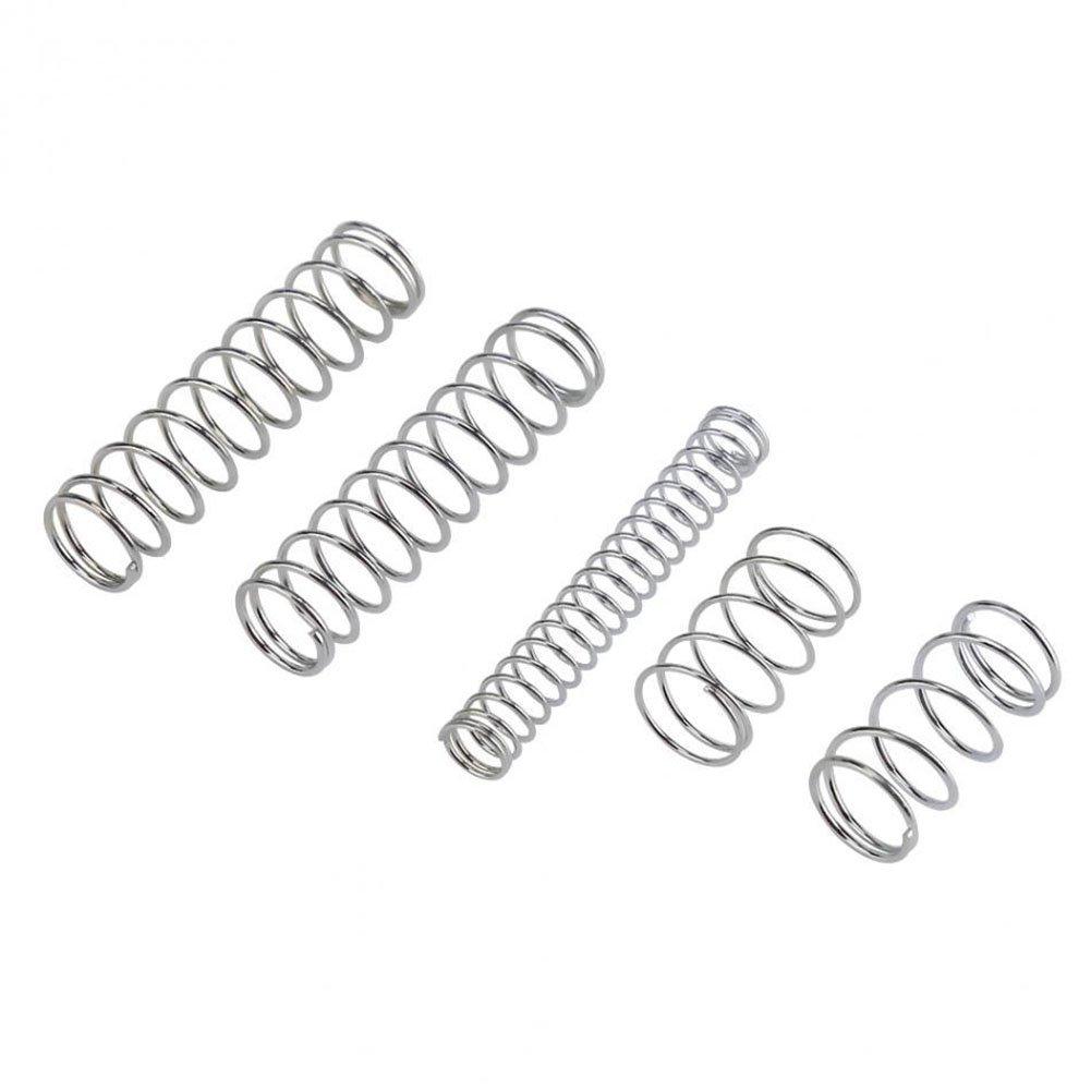 Wildlead 200/Unidades 20/Tama/ños Pr/áctico Metal Tension//Compression Plumas Surtido Kits
