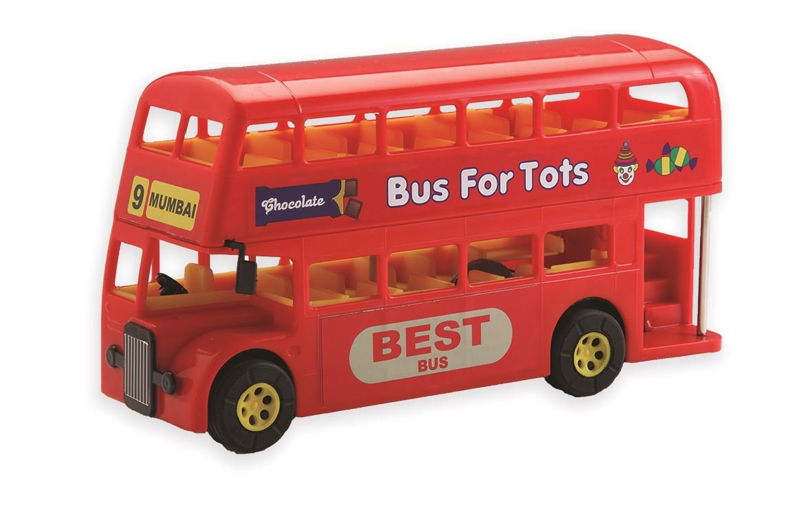Buy Mumbai Double Decker Bus, A perfect miniature model of