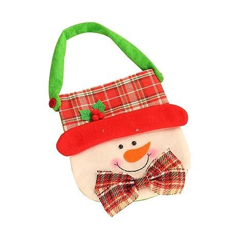 LFHH Bolsas Adornos de Navidad de Caramelo Bolsa de Galletas ...
