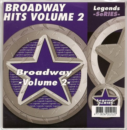 LEGENDS Karaoke CDG BROADWAY SHOWSONGS Vol.2 Show Tunes cd ()