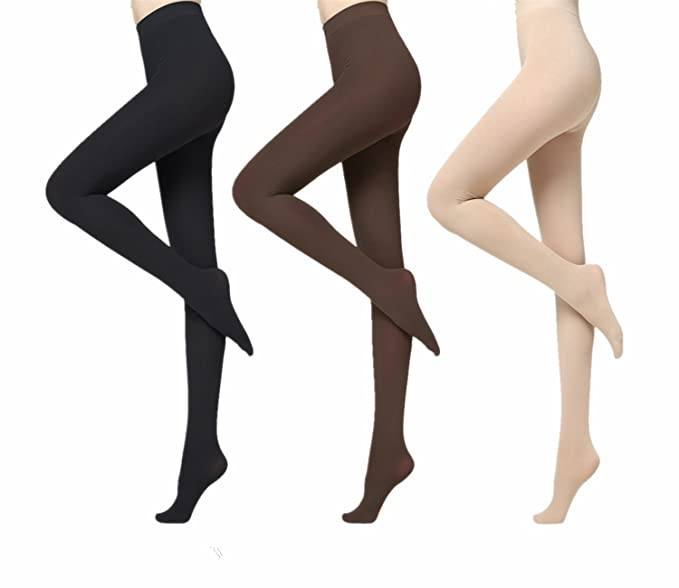 19c4eb59d Women s Super Opaque Sheer To Waist Tight Micro-Transparent Ultra Soft Sexy  Stockings Tight 120D