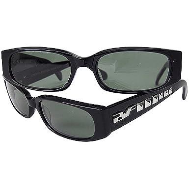 Amazon.com: Negro Flys de los hombres Punk Fly – Gafas de ...