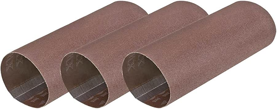 Woodstock D4624 Sanding Sleeve with 100 Grit 1-1//8 x 4 3 Pack
