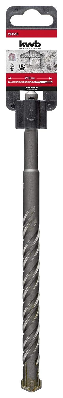 2615/ KWB Cross per trapano a percussione Tip /16 punta a 4/taglienti