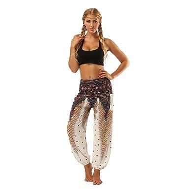 Señoras De Yoga Leggings Hombres NEN Mujeres Thai Ropa Harem ...