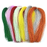 ShopSquare64 ZANLURE 150PCS 18Colors Lure Tying Making with Crystal Flash Fly Tying Material