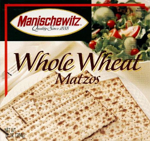 MANISCHEWITZ MATZO WHL WHEAT, 10 OZ, PK- 12