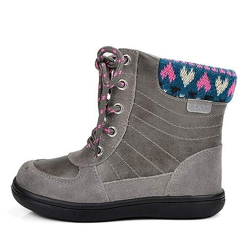 Bambini Vitello Ragazze Snow Per Mid Caldo Inverno Boots Stivali H29WYEDI