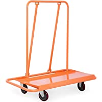 BestEquip Drywall Cart Capacity Drywall Cart Dolly Utility Handling Sheetrock Panel 45 x 12 Inch Deck Size (3000lbs)