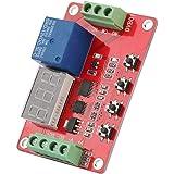 Akozon デジタルウィンドウ 電圧コンパレータ12V / 24V 赤 DVB01デジタルウィンドウ電圧コンパレータ/電圧測定(12V)