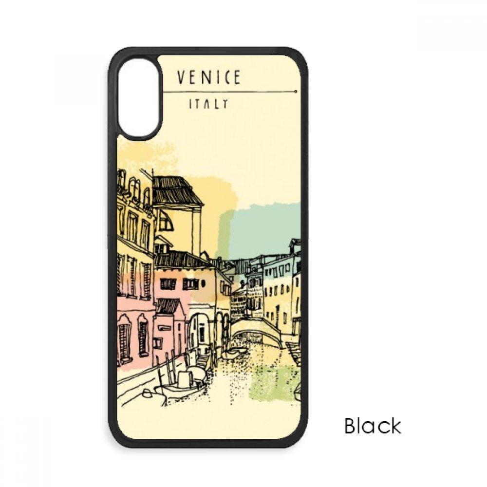 pretty nice 48163 2284e Amazon.com: Italy Venice Customs Landmark Pattern For iPhone X Cases ...