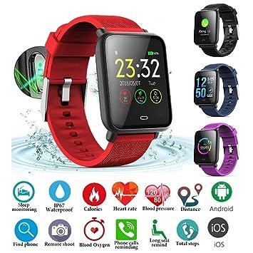 713868ec5457 zchg Reloj Deportivo Inteligente Pulsera Color Presión Arterial ...