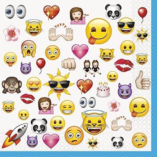 Emoji Party Napkins,