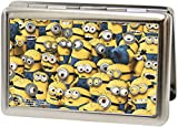 Despicable Me - Minions Stacked Design - Metal Multi-Use Wallet Business Card Holder