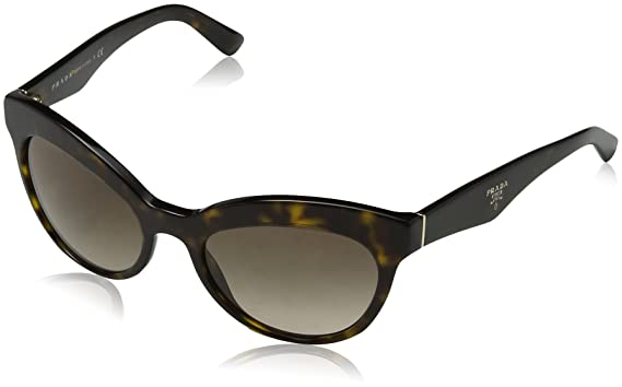 a61e577c2 Image Unavailable. Image not available for. Color: Prada PR23QS 2AU3D0  Tortoise Triangle Cats Eyes Sunglasses ...