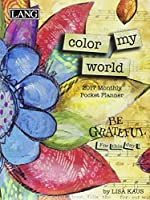 Color My World 2017 Monthly Pocket Planner