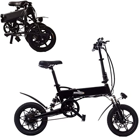 YYD Ebike, Bicicleta eléctrica Plegable con luz LED Frontal para ...