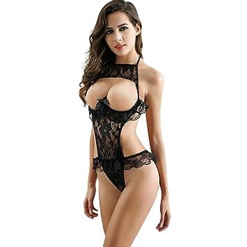 Las mujeres conjuntos de lencería sexy, yanhoo mujeres Sexy Lencería pecho un archivo