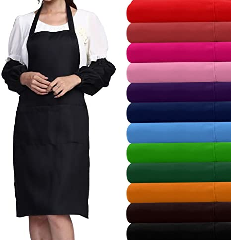 Careonline Plain Apron Cooking Craft Chefs Apron Kitchen Baking Cake Decorating Tools