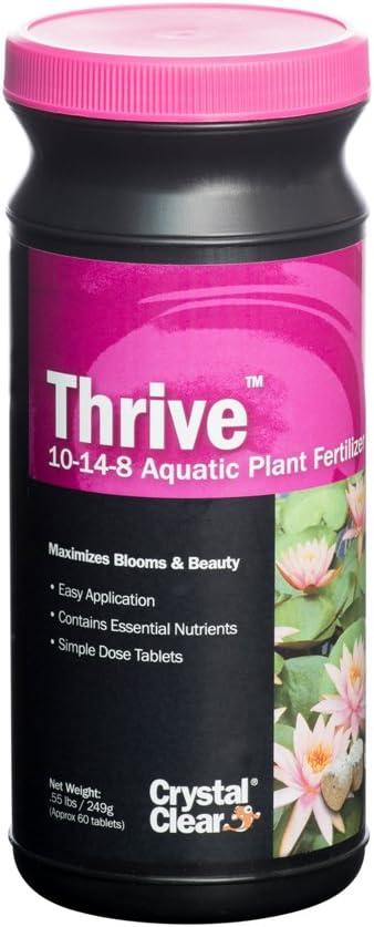 CrystalClear Thrive - 10-14-8 Aquatic Plant Fertilizer - 60 Tablets