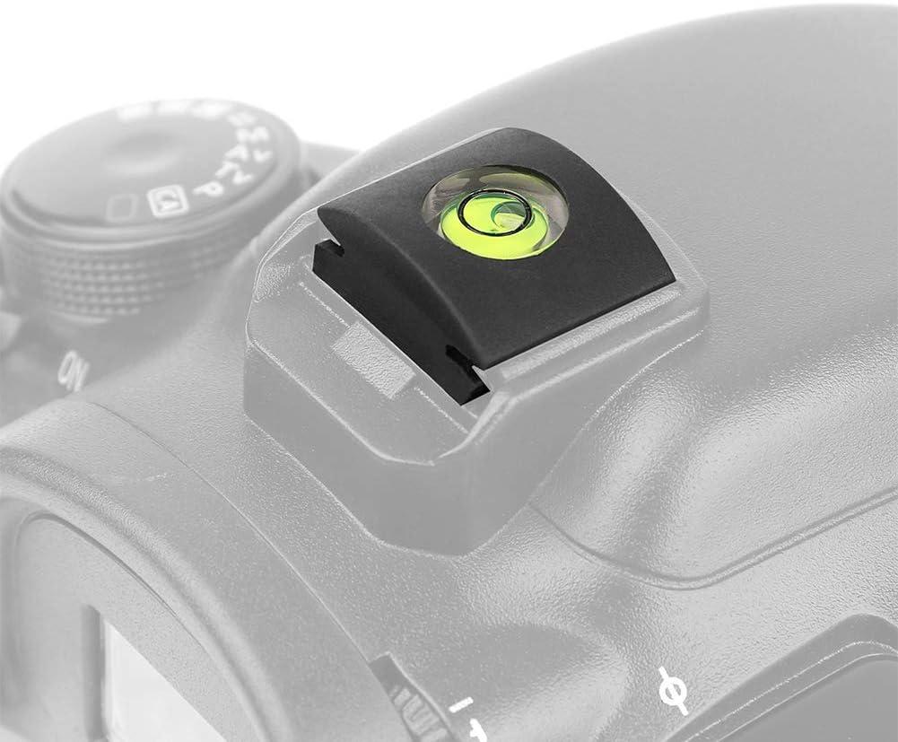 AkoMatial Plastic 1//4Pcs Mini Hot Shoe Cover Mount Protector Camera Bubble Spirit Level Accessories for Canon Nikon DSLR 1pc
