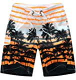 Men's Beach Surfing Boardshorts Swimming Trunk Hawaiian Shorts