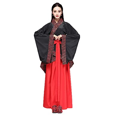 Ez-sofei Women s Ancient Chinese Han Dynasty Traditional Costume Set Hanfu  Dresses (S 531632c15