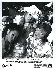 Historic Images - 1996 Press Photo Actress Stacey Dash,Rachel Blanchard,Elisa Donovan Clueless