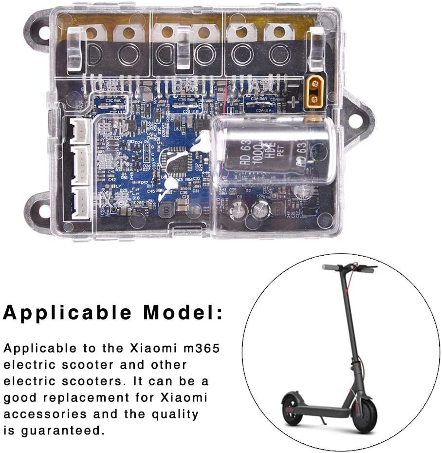 Mainboard Controller Circuit Board Controller Electric Scooter Motherboard for Scooter Replacement Accessory