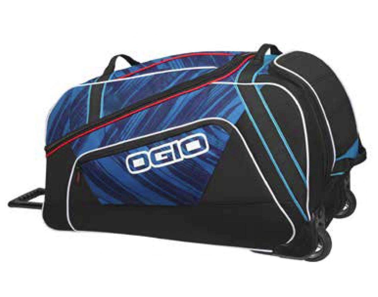 Ogio Big Mouth Wheeled LE Light Speed Blue Gear Bag - One Size 121012.752