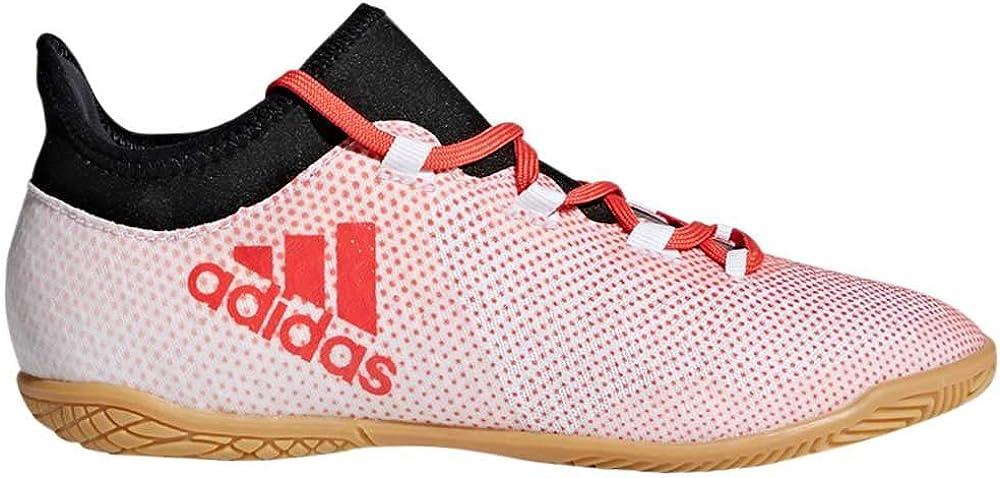 adidas Kids X Tango 17-3 in Boys Fashion Sneakers Grey//Real Coral//Core Black
