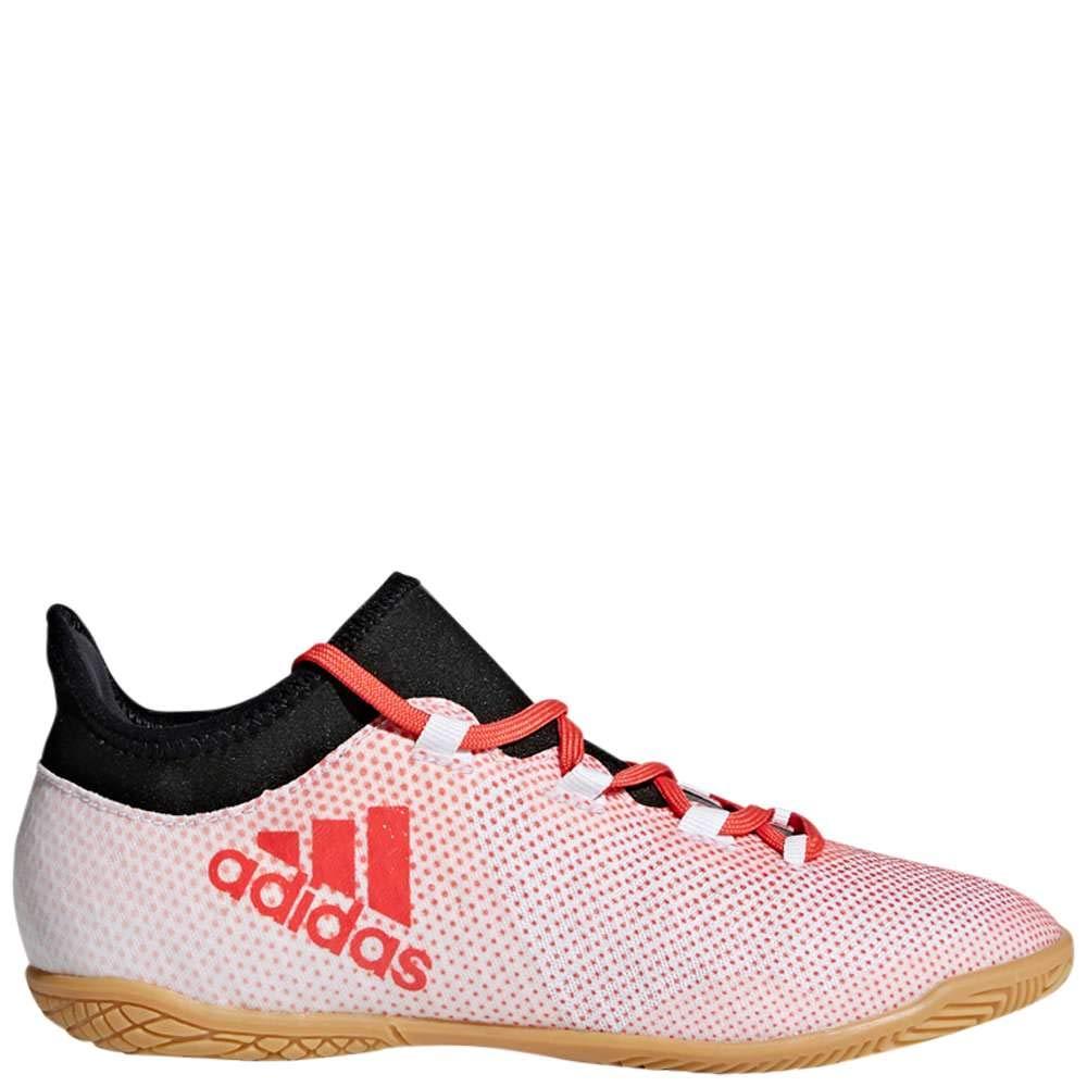 High Quality adidas X Tango 17. 3 IC black blue white men's football shoes sneakers