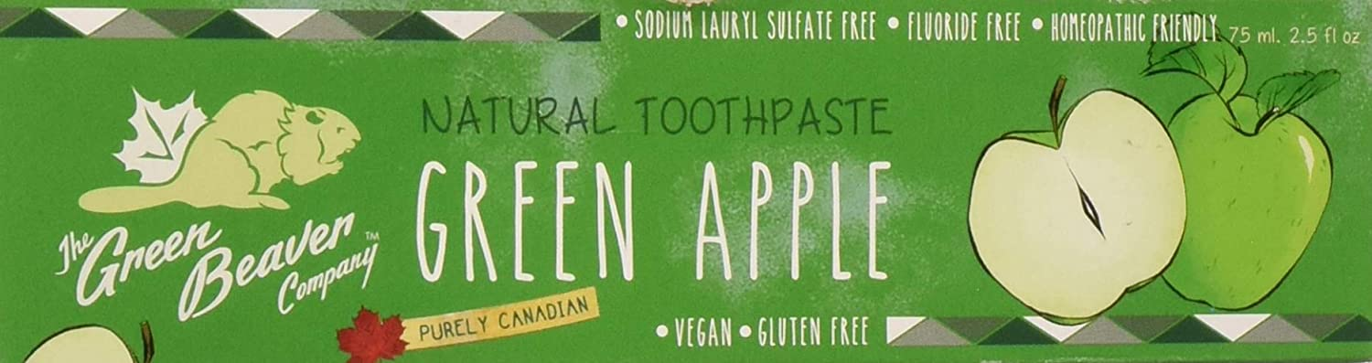 GREEN BEAVER,THE Tooth Paste, Green Apple
