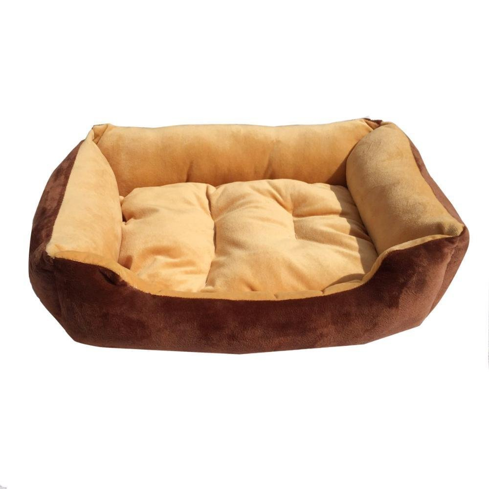 B 9070 B 9070 WUTOLUO Pet Bolster Dog Bed Comfort Kennel Cat Litter Four Seasons Pet House puppy Mat (color   B, Size   90  70)