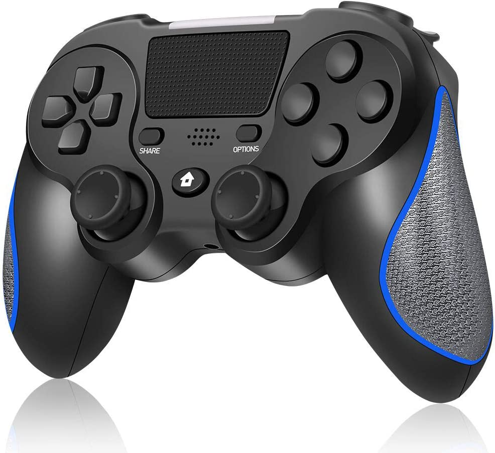 Wireless Controller for Playstation 4/Pro/Slim/PC, RegeMoudal Wireless Gamepad for PS4 Built-in Rechargeable 600mAh Battery Joystick, Support Double Vibration and Touch Pad