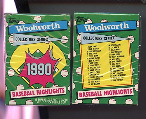 1990-topps-baseball-card-highlights-woolworth-complete-box-set-factory-sealed