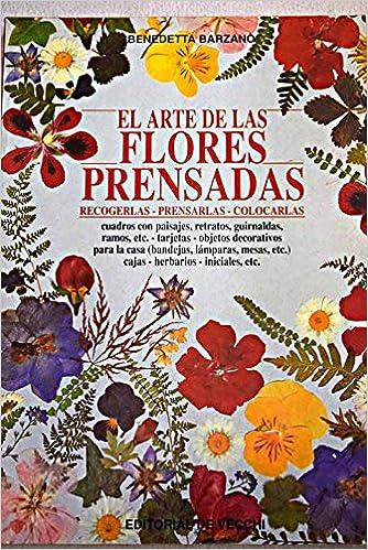 El Arte de Las Flores Prensadas (Spanish Edition): Benedetta Barzano: 9788431514525: Amazon.com: Books