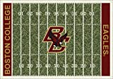 (Ship from USA) 5x8 Milliken Boston College Eagles NCAA Home Field Area Rug - Approx 5'4''x7'8'' /ITEM NO#E8FH4F85494452