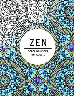 Zen Coloring Books For Adults Pages