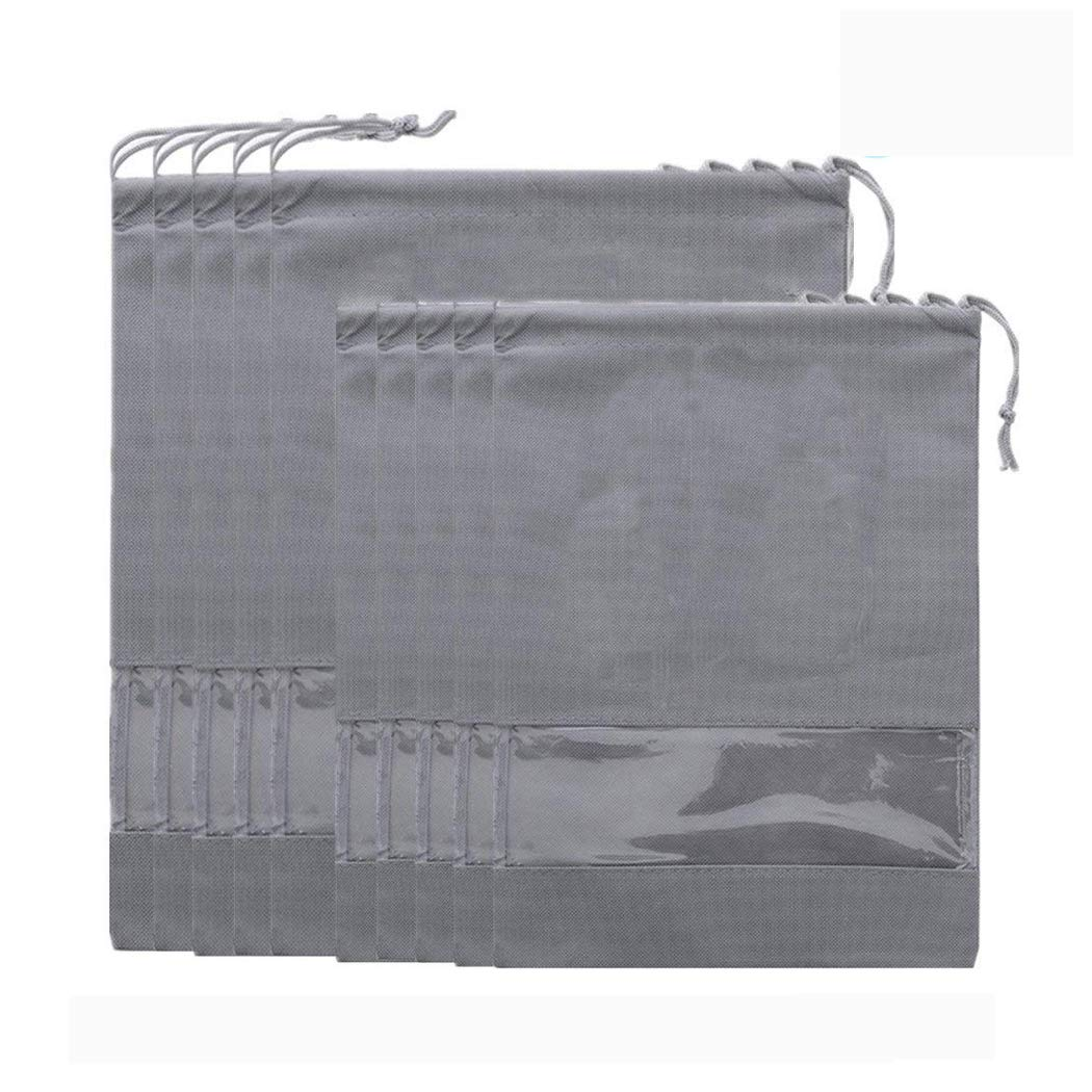 Mroro Portable Travel Shoe Bags Dust-proof Waterproof Shoe Organizer Space Saving Storage Bags