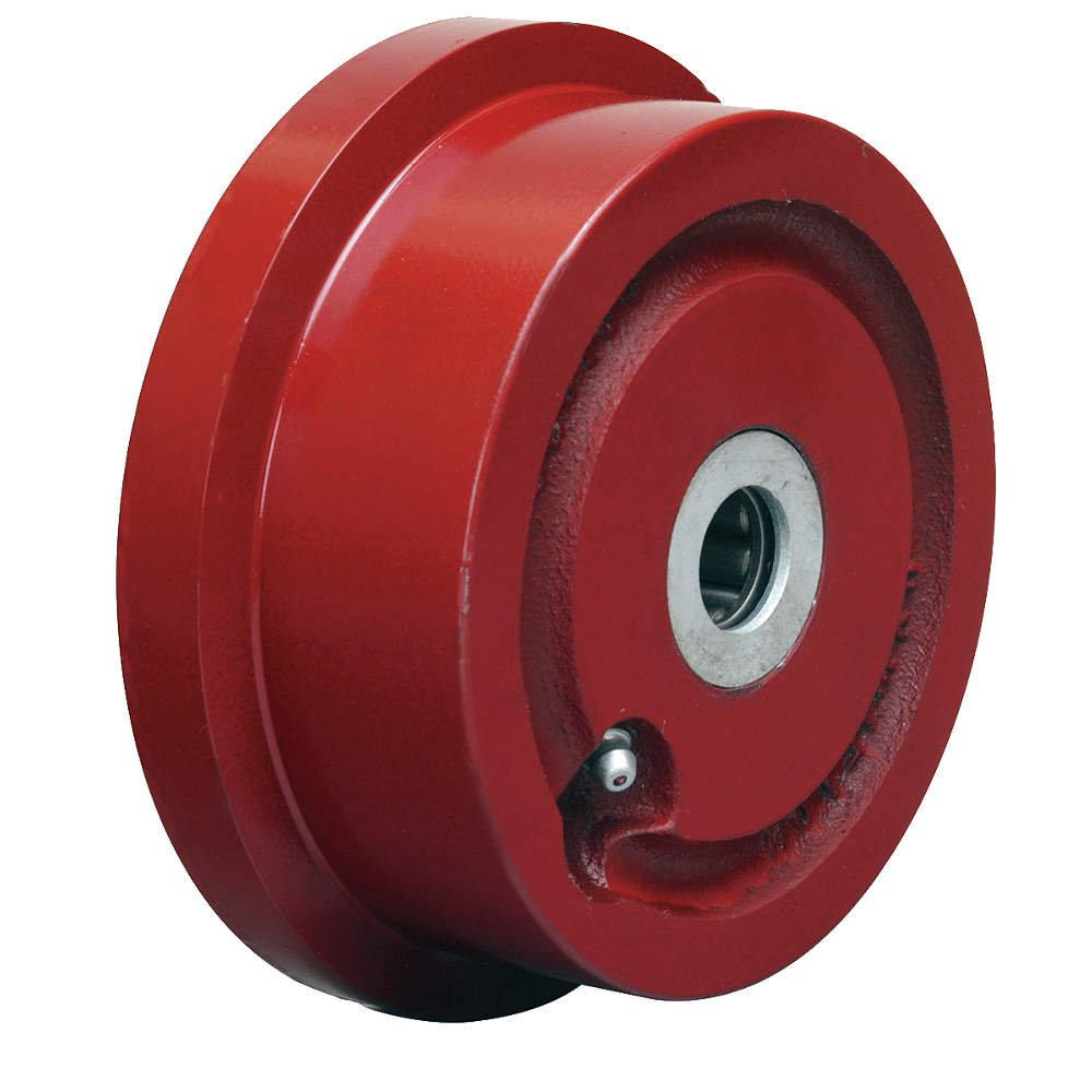 Single Flanged Track Wheel 4-15/16'' Diameter x 1-7/16'' Face x 2-1/4'' Hub length with 3/4'' Roller Bearing