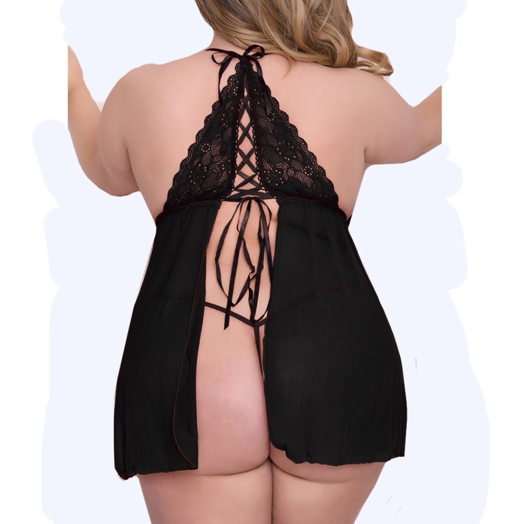HCFKJ 2017 Mode Damen Dessous Bodysuit Bandage Bowknot Bodysuit Unterw/äsche Nachthemd