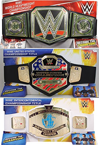 WWE Intercontinental Championship Belt Kids Wrestling Pretend Toy Decoration