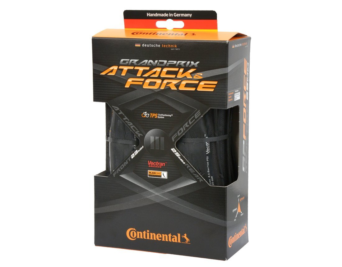 Continental Attack Force Grand Prix III Set 700x23/25 (NEW!) by Continental Tire (Image #2)