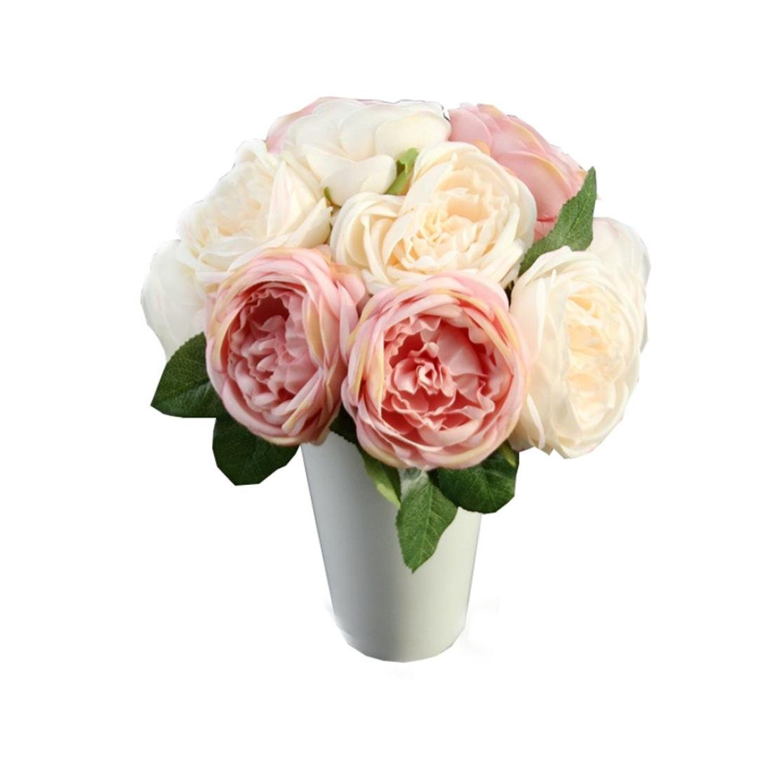 Deko Blumen amazon de longra wohnaccessoires deko kunstblumen künstliche