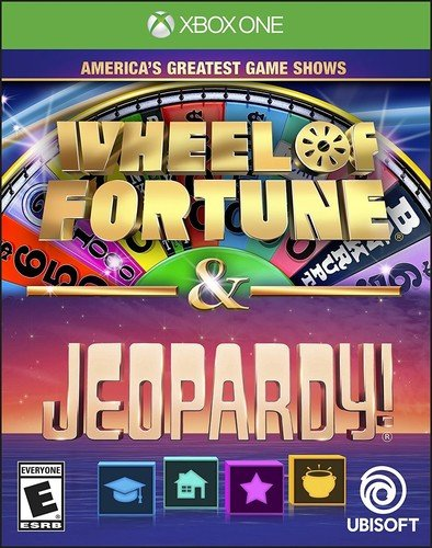 America's Greatest Game Shows: Wheel of Fortune & Jeopardy - Xbox One Standard Edition (Xbox 360 Jeopardy Game)