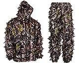 Hec Suit Best Deals - SwedTeam Super Natural Camouflage Leafy Hunting Suit (Large)