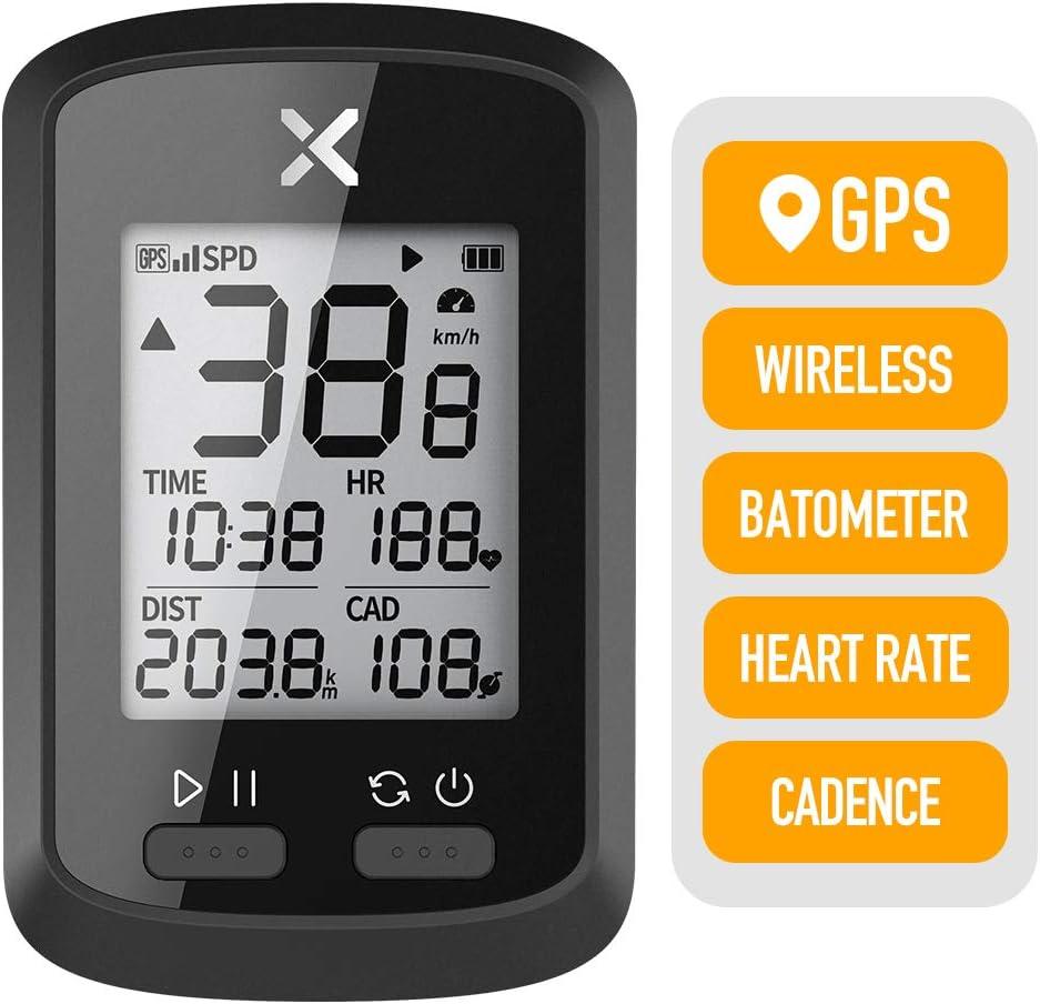 XOSS Ciclocomputador G+ GPS inalámbrico Velocímetro Impermeable Bicicleta de Carretera MTB Bicicleta Bluetooth Ant + con computadoras de Ciclismo de cadencia